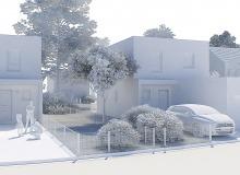Maisons Auguste maquette 2